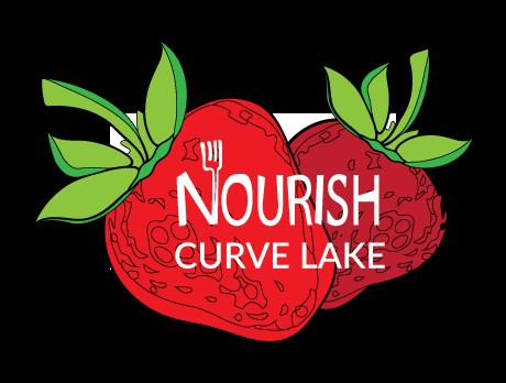 Nourish Curve Lake Logo.