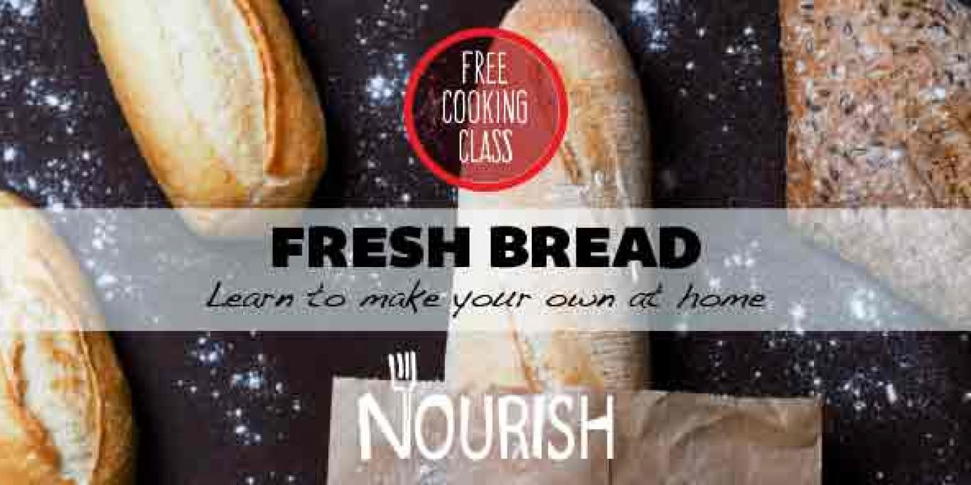 Event poster for Bread workshop
