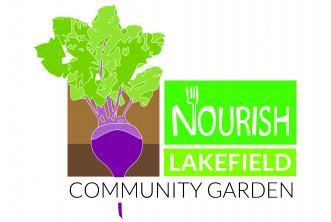 Nourish Lakefield Community Garden logo