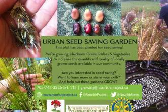 Urban Seed Garden Sign